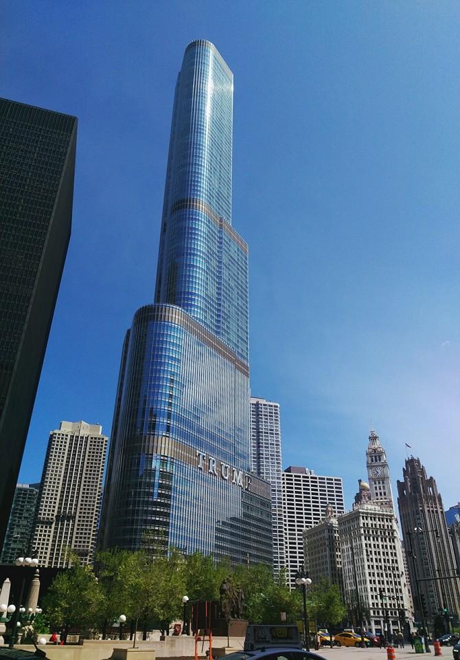 부동산 재벌 트럼프의 상징인 뉴욕 트럼프 타워. 높게 솟은 마천루가 그의 과도한 자기애를 대변하는 듯합니다. - pixabay 제공